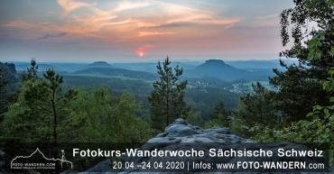 Fotokurs Wanderwoche Sächsische Schweiz April 2020