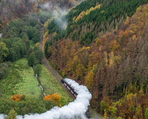 Fotowanderungen auf dem Südharzer Dampflok Steig