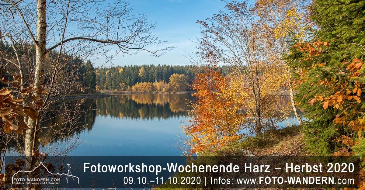 Fotoworkshop-Wochenende-Harz - Herbst 2020