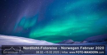 Nordlicht-Fotoreise - Norwegen Februar 2020
