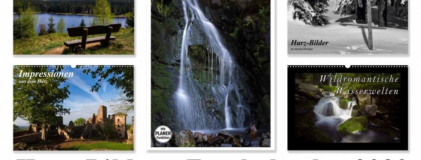 Übersicht Fotokalender Harzer-Bilder 2020