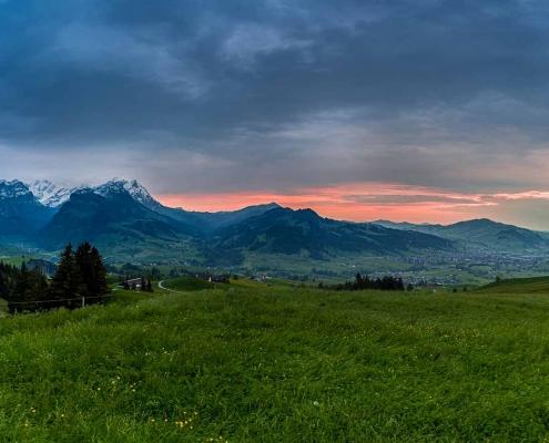 abends im Alpstein, Schweiz