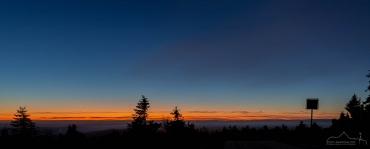 Blaue Stunde im Nationalpark Harz