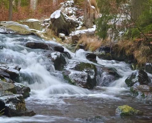 Fotoworkshop-Wochenende Harz-Winter © Ute M.