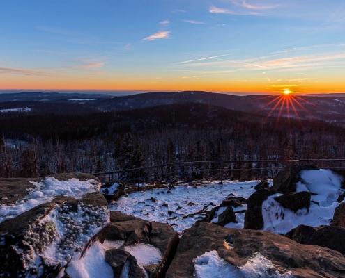 Fotokurs Sonnenuntergang auf dem Achtermann im Nationalpark Harz