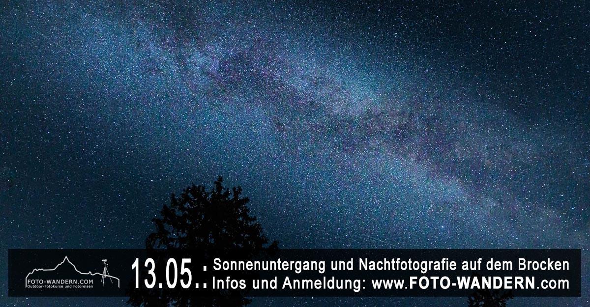 2020-05-13- Sonnenuntergang und Nachtfotografie auf dem Brocken