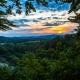 Sonnenuntergang auf dem Karstwanderweg