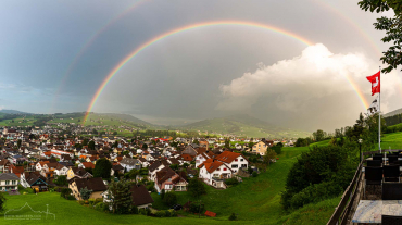 Appenzell unterm Regenbogen