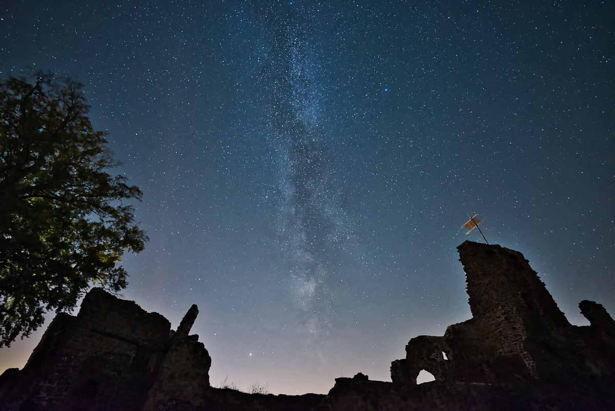 Blaue Stunde und Nachtfotografie im Naturpark Südharz