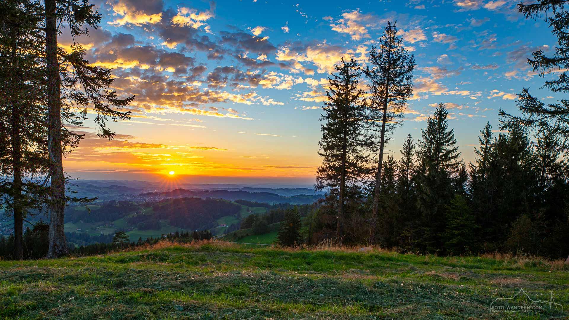 Ausblick auf die Fotokurs-Wanderwoche im Appenzellerland 2021