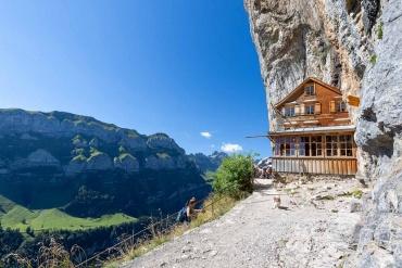 Fotoreise Schweiz - Appenzellerland - Gasthaus Aescher