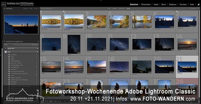 Adobe Lightroom Workshop-Wochenende